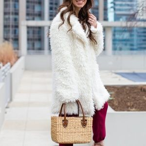 CLASSY CREAM FUR COAT (LIMITED TIME ONLY)